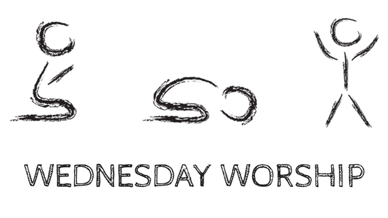 Wednesday worship Title graphic